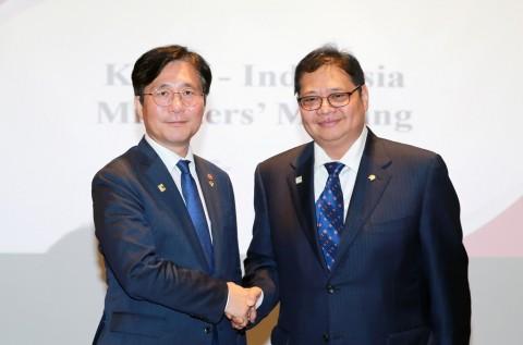 Indonesia-Korsel Perkuat Kerja Sama Sektor Industri Prioritas 4.0