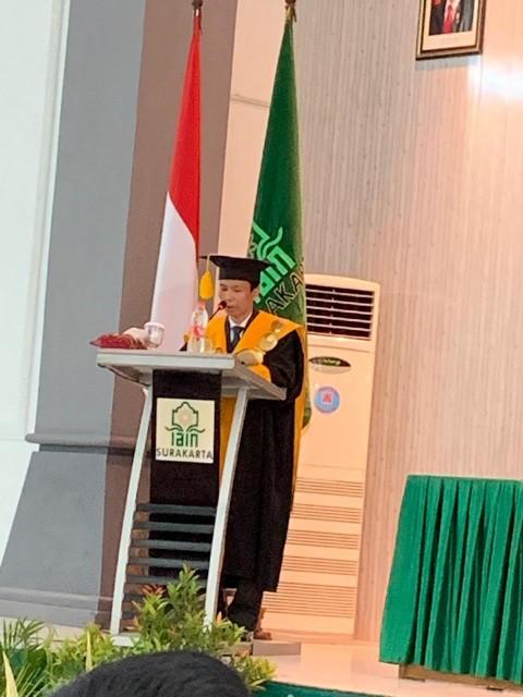 Rektor IAIN Surakarta Dikukuhkan Sebagai Guru Besar