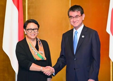 Menlu Jepang Sambut Baik Outlook Indo-Pasifik di ASEAN