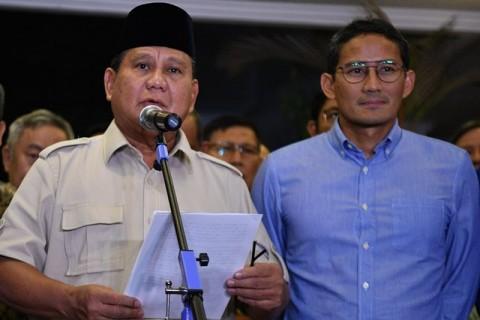 Prabowo Terima Kekalahan