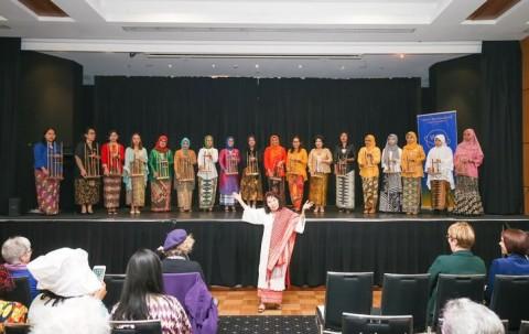 Gema Angklung Indonesia Hipnotis Warga Australia