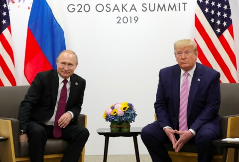 Bertemu Putin, Trump Tegaskan Hubungannya Sangat Baik