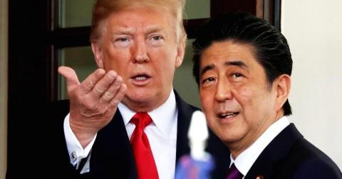 Trump-Abe Bahas Perdagangan di Sela KTT G20