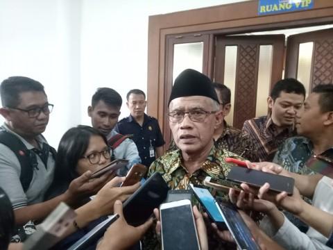 Haedar Nashir Ucapkan Selamat untuk Jokowi-Ma'ruf