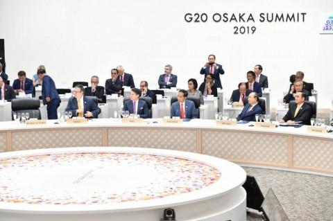 Presiden Jokowi Sampaikan Usulan Ekonomi Digital di KTT G20