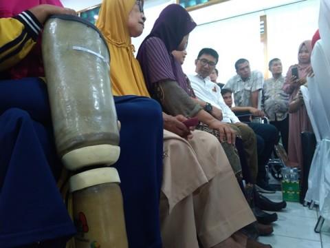 Kick Andy Foundation Sentuh Penyandang Tuna Daksa di Medan