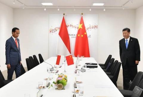 Pesan Presiden Jokowi untuk Presiden Xi Jinping