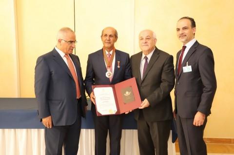 Presiden Palestina Anugerahkan Star of Merit untuk Dubes RI