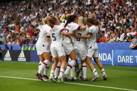 Singkirkan Prancis, AS Hadapi Inggris di Semifinal