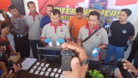 Penyelundupan Sabu Jaringan Internasional di Makassar Digagalkan