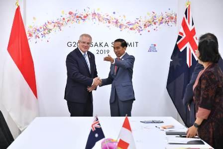 Jokowi Dorong Peningkatan Kerja Sama Pendidikan Vokasi dengan Australia