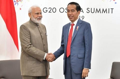 Bertemu PM India, Jokowi Angkat Isu Ekonomi dan Maritim