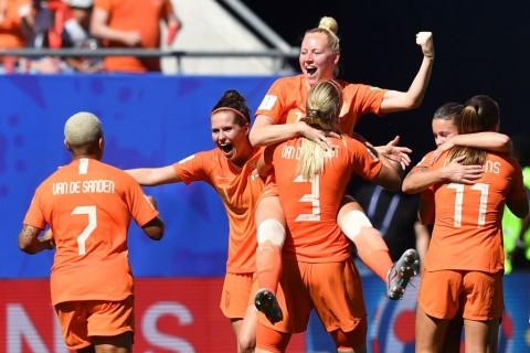 Belanda Singkirkan Italia dari Perempat Final Piala Dunia Wanita