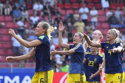 Tekuk Jerman, Swedia Jumpa Belanda di Semifinal Piala Dunia Wanita