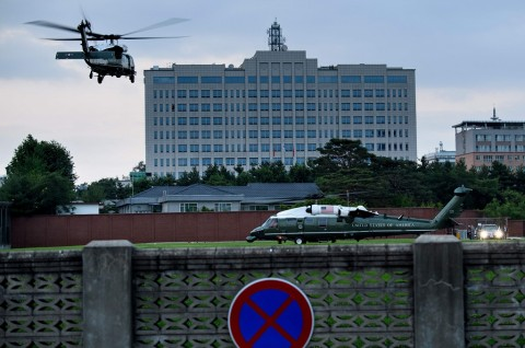 Usai Undang Kim Jong-un, Trump Bertolak ke DMZ Korea