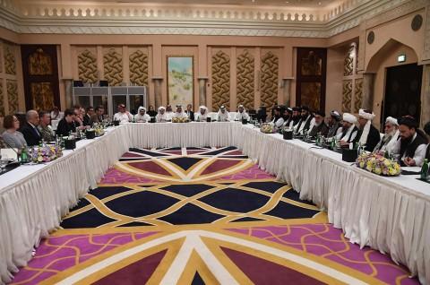 AS dan Taliban Lanjutkan Dialog ke Putaran Ketujuh