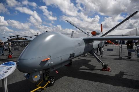 Pemberontak Tembak Drone Turki di Bandara Libya