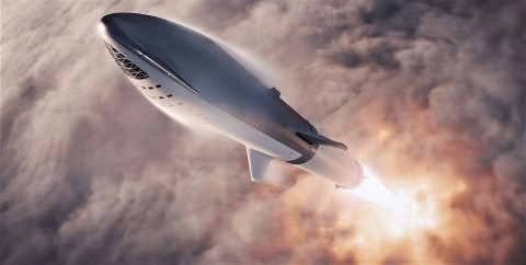 SpaceX Targetkan 2021 Luncurkan Komersial Starship