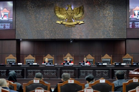 Hakim MK Dilarang Sidangkan Perkara Daerah Asal