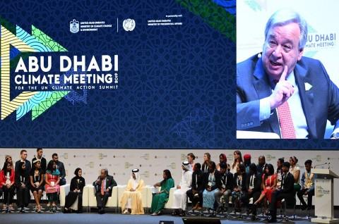 Sekjen PBB Peringatkan Ancaman 'Darurat Iklim'