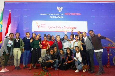 90 Inovator Muda Ethiopia 'Mondok' di KBRI Addis Ababa