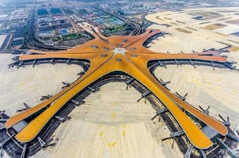 Bandara Raksasa Beijing akan Dibuka Jelang HUT ke-70 Tiongkok