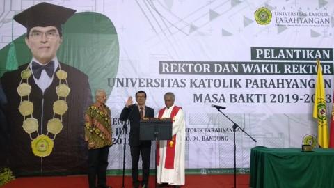 Mangadar Situmorang Kembali Dilantik sebagai Rektor UNPAR