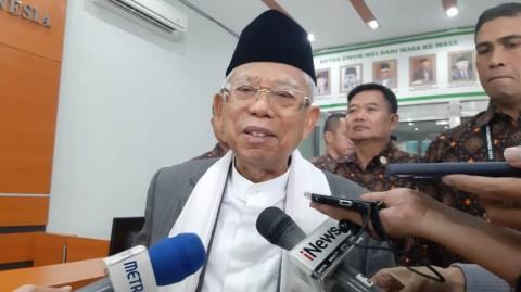 Ma'ruf Amin Akan Lepas Jabatan Ketua MUI