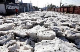 Badai 'Aneh' Landa Kota Guadalajara Meksiko
