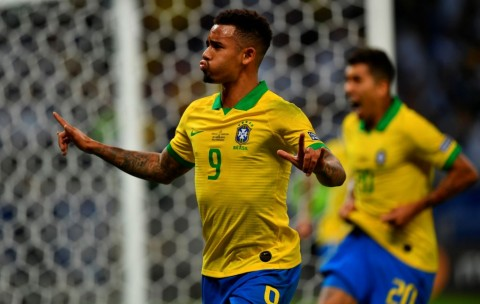Gabriel Jesus Bawa Brasil Ungguli Argentina