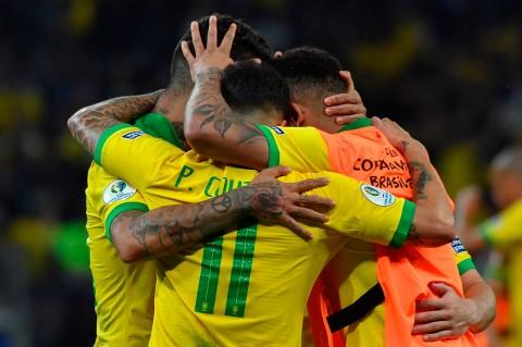 Tekuk Argentina 2-0, Brasil ke Final Copa America