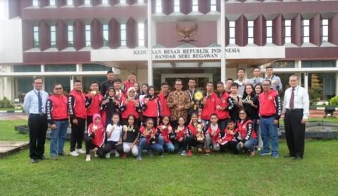 Indonesia Juara Umum di Kejuaraan Karate Internasional