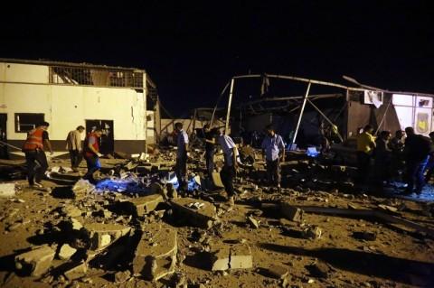 Libya Sebut Negara Asing Dalangi Serangan Penampungan Imigran