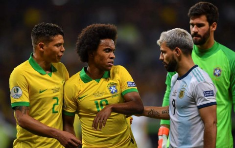 Brasil Tanpa Willian di Final Copa America