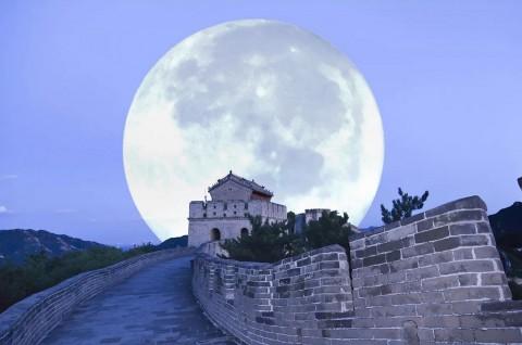 Tiongkok Siapkan Bulan Buatan di Area Urban