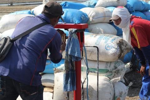Tengkulak di Cirebon Jual Garam dengan Harga Murah