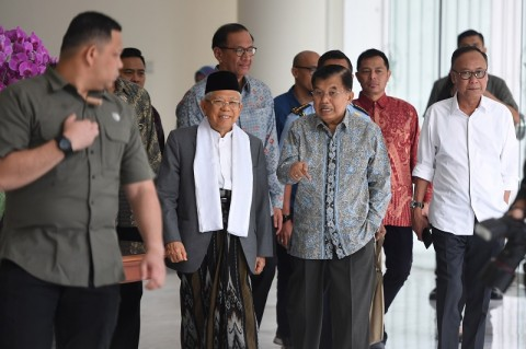 Ma'ruf Janji Selesaikan Polusi Udara di Jakarta
