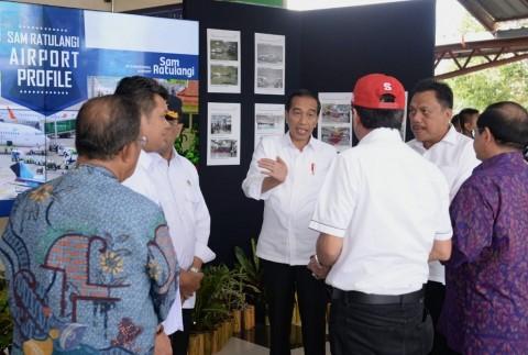 Presiden Instruksikan Terminal Baru Bandara Sam Ratulangi Segera Dibangun