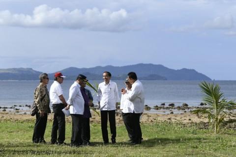 Jokowi Kunjungi KEK Tanjung Pulisan Minahasa Utara