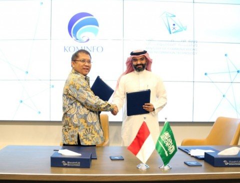 Indonesia-Arab Saudi Teken MoU Ekonomi Digital