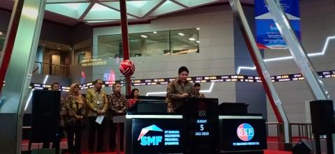 Bima Sakti Pertiwi Resmi Melantai di Bursa Saham