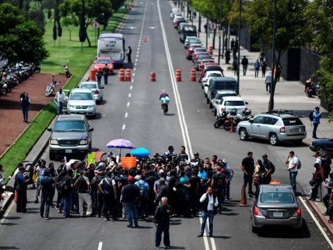 Meksiko: Ada Konspirasi Politik di Balik Protes Polisi