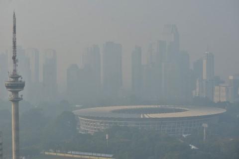 Jumlah Alat Ukur Kualitas Udara Jakarta Belum Ideal