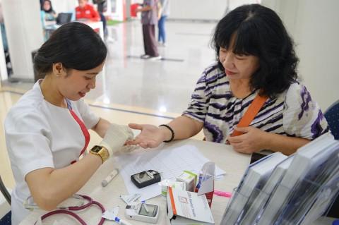 LRT Gelar Donor Darah dan Cek Kesehatan Gratis