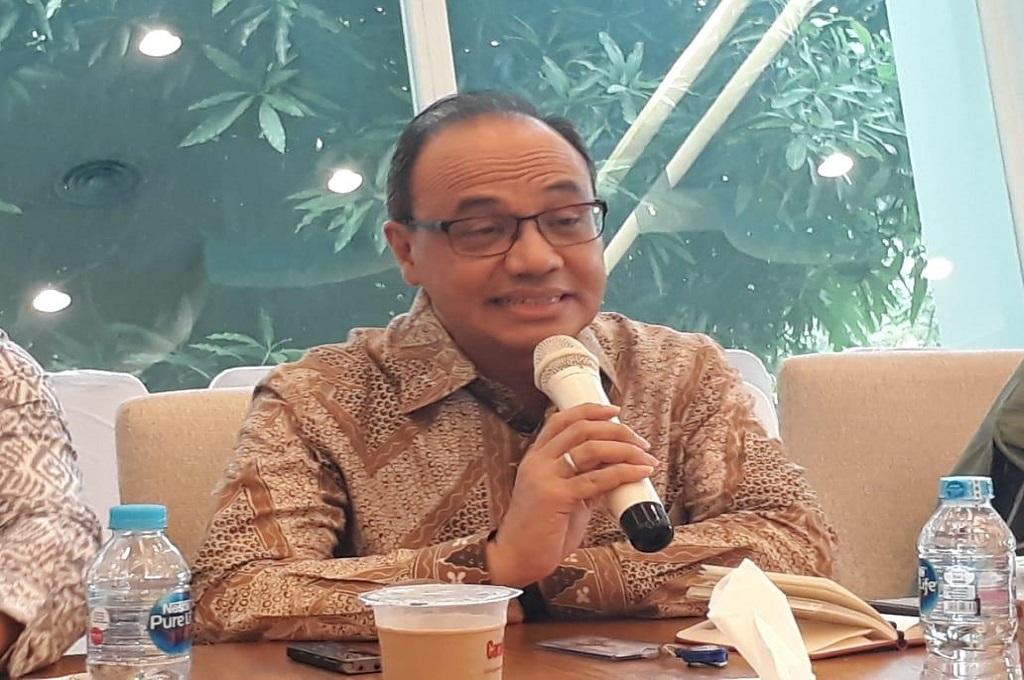 Juru bicara Kementerian Luar Negeri, Teuku Faizasyah. (Foto: Medcom.id/Marcheilla Ariesta)