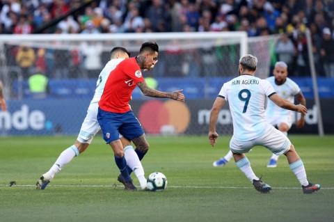Messi Diusir Wasit saat Argentina Rebut Tempat Ketiga Copa America 2019