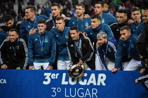 Kalahkan Chile, Argentina Raih Peringkat 3 Copa America