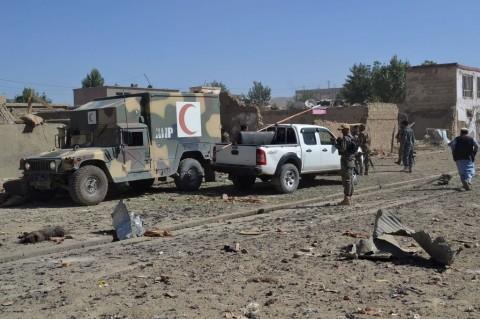 Bom Mobil di Afghanistan Tewaskan 12 Orang