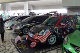 Bandara Soekarno-Hatta, Gelar Kontes Mobil Modifikasi