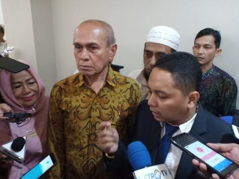 Kivlan Zen Hadiri Sidang Praperadilan di PN Jaksel